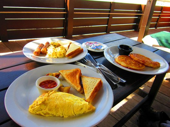Silver Point Hotel:                   Yummy Breakfast