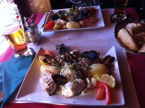 Clichy's Tavern:                   the fish dish?