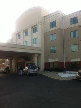 SpringHill Suites Dayton South/Miamisburg : front entrance
