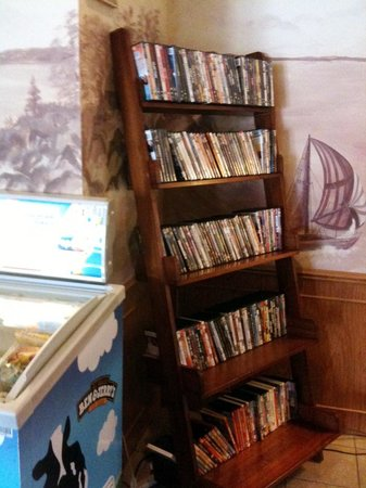 Harbor Shores on Lake Geneva:                   DVDs available for rental in hotel lobby