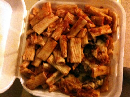 Harbor Shores on Lake Geneva:                   Small order of sausage rigatoni LEFTOVERS!
