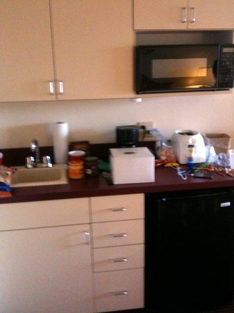 Harbor Shores on Lake Geneva:                   Kitchen area in room                 
