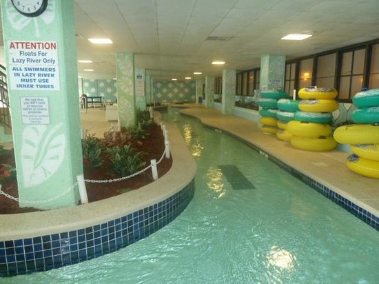 Long Bay Resort:                   Lazy river in ground level family play area