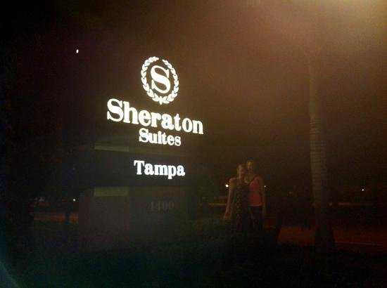 Sheraton Suites Tampa Airport Westshore:                   Enjoyed our stay!