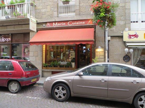 Marie Thé Cuisine : Front