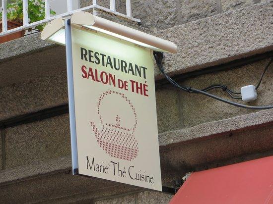 Marie Thé Cuisine : Sign