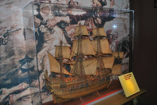 Queen Anne's Revenge - Picture of North Carolina Museum of