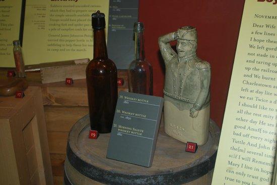 North Carolina Museum of History:                   Whiskey jugs