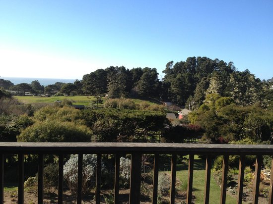 Stanford Inn by the Sea :                   View from Balcony  - Big River Executive room