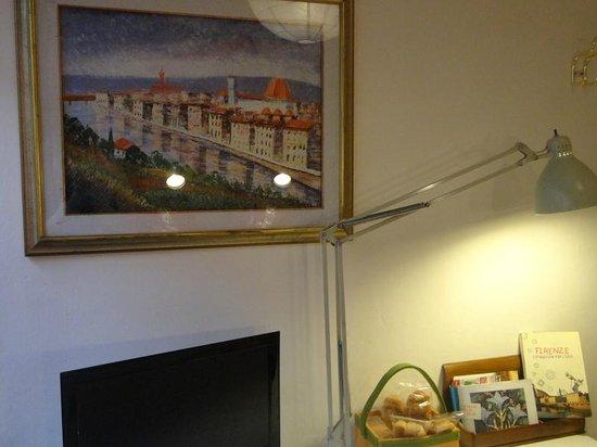 B&B Tre Gigli Firenze: particolare della Camera Sole