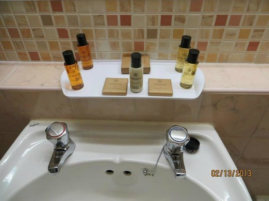 Newpark Hotel:                   Toiletries