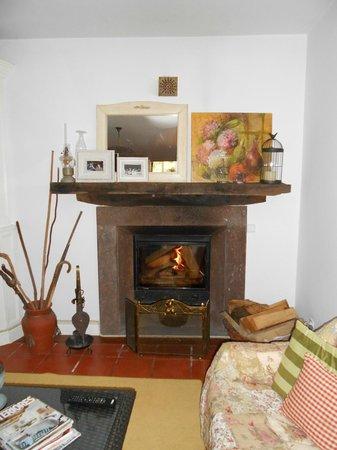 Casa da Piedade:                   fireplace