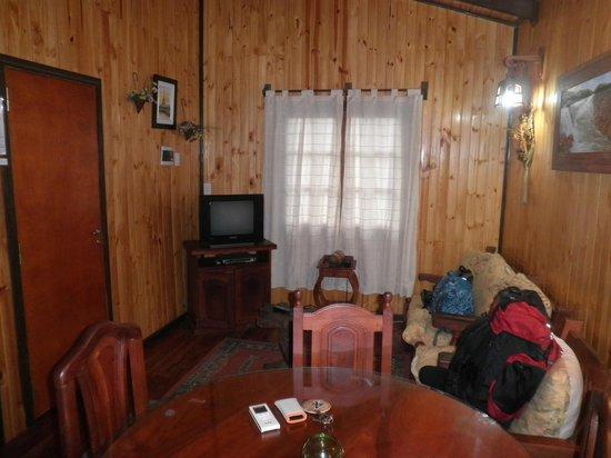 Petit Hotel Si Mi Capitan: Living (bungalow)