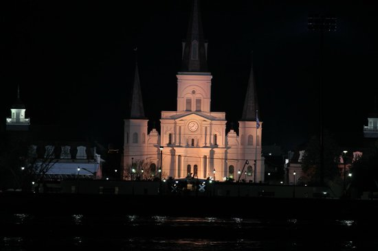 House of the Rising Sun Bed and Breakfast :                   St. Louis Cathedral,in Jackson Square,French Quarter,from the ferry!