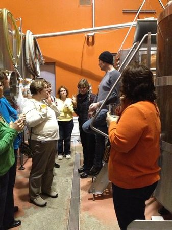 Old Boys' Brewhouse:                   Brewery Tour