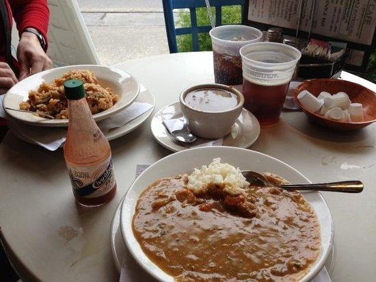 Market Cafe:                   Lunch!