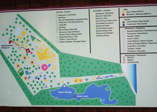 Bel Air Collection Xpu Ha Riviera Maya:                   Property map