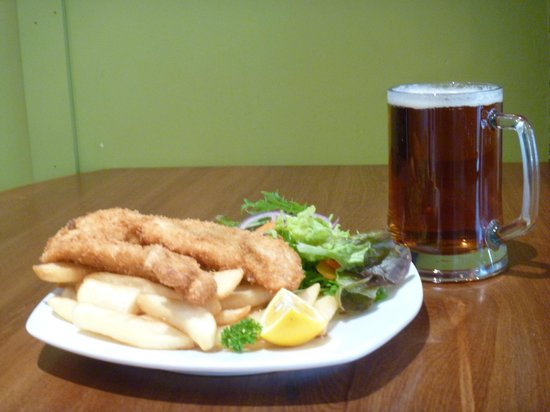 Fish hook: Classic kiwi meal with a handle of southern Speights ale