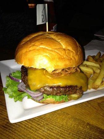 Kickapoo Tavern:                   build your own burger