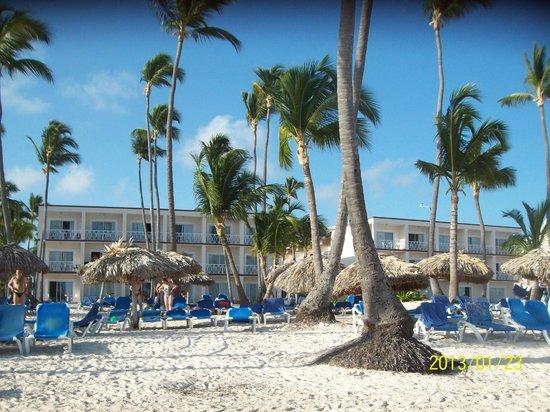 Be Live Collection Punta Cana: Blocs 5 et 7 vus de la plage
