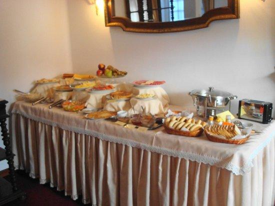 El Hostal de Su Merced: el desayuno