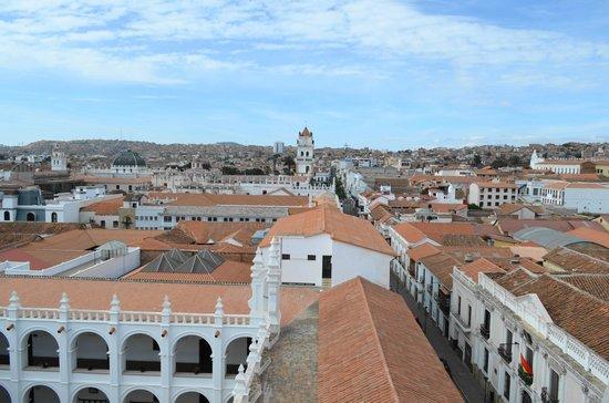 El Hostal de Su Merced: vista desde el convento