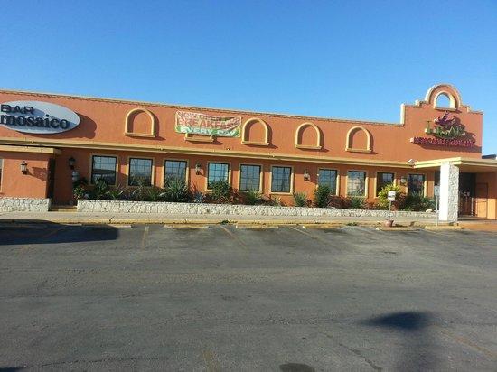 Lisa's Mexican Restaurant:                                     Front of Lisa's Restaurant
