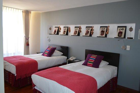 Terradentro Lago Titicaca: la habitación