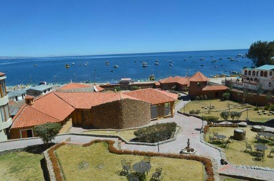 Terradentro Lago Titicaca: vista desde la habitación
