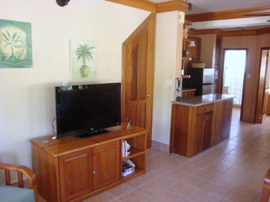 Belizean Shores Resort:                   Great furniture and counter tops
