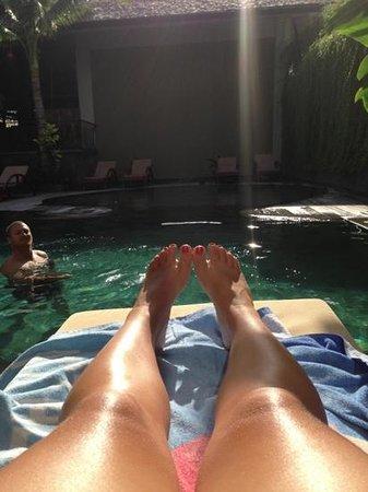 The Oasis Lagoon Sanur:                                     pool :-)                                  