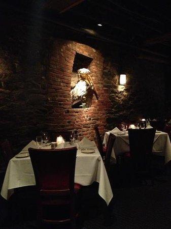Wharf Restaurant :                   inside the restaurant