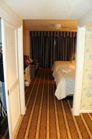 Disney's Beach Club Resort:                   standard queen bedroom