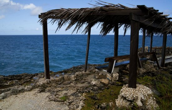 Caribbean Motorcycle Guided Tours:                   Animal Flower Cave...northern tip of the island