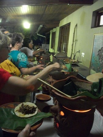 Managua Hills Bed and Breakfast:                   Banquet Dinner