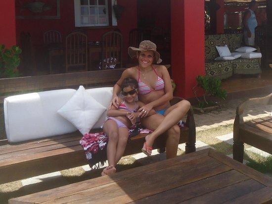 Casa da Praia:                   relaxando ...