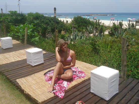 Casa da Praia:                   vista maravilhosa da praia de Itaúna