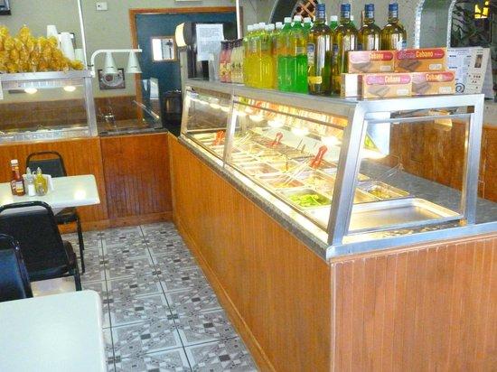 Bryan Cafeteria Restaurant: salad bar
