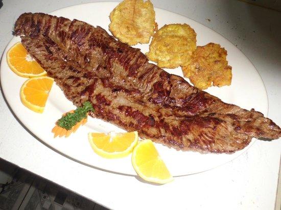 Bryan Cafeteria Restaurant: churrasco de 1 libra