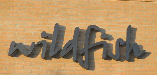 Wildfish Seafood Grille: Sign