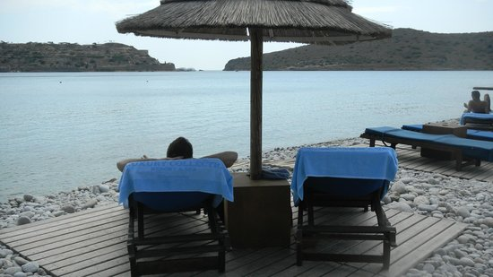 Blue Palace, a Luxury Collection Resort & Spa, Crete:                   At the rocky beach