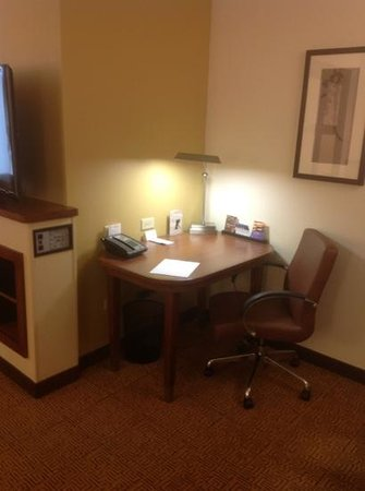 Hyatt Place North Charleston:                   work area