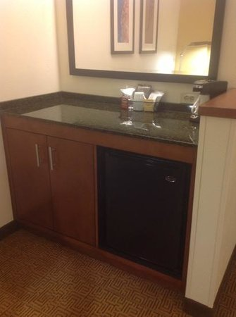 Hyatt Place North Charleston:                   coffee maker, mini-fridge