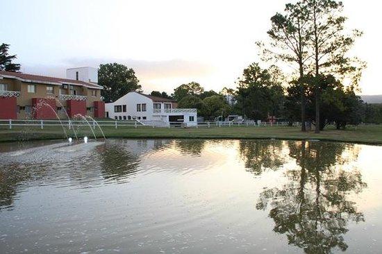 San Miguel Plaza Hotel :                   Atardecer en el campo de golf