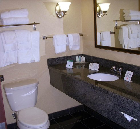 Comfort Suites Indianapolis Airport: Nice, clean bathroom