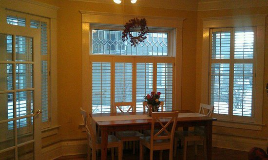 Seasons at the Riter Mansion: Formal Dining Area