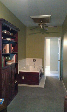 Seasons at the Riter Mansion: Library Room Jacuzzi