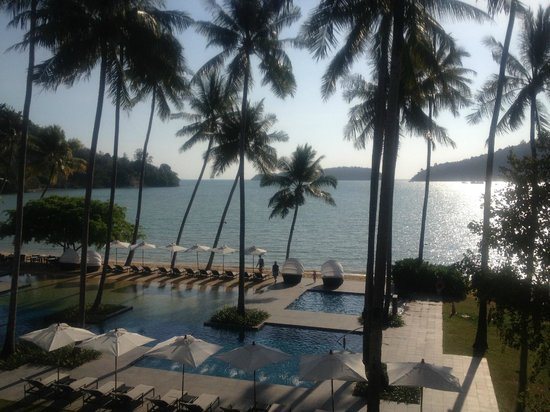 Phuket Panwa Beachfront Resort:                   View from Beach View Room - Straight On