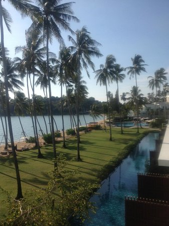Crowne Plaza Phuket Panwa Beach:                   View from Beach View Room - Right Side