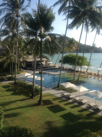 Phuket Panwa Beachfront Resort:                   View from Beach View Room - Left Side